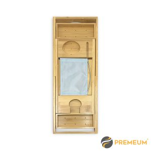 Premeum Adjustable Bamboo Bath Caddy Tray Secondry Image